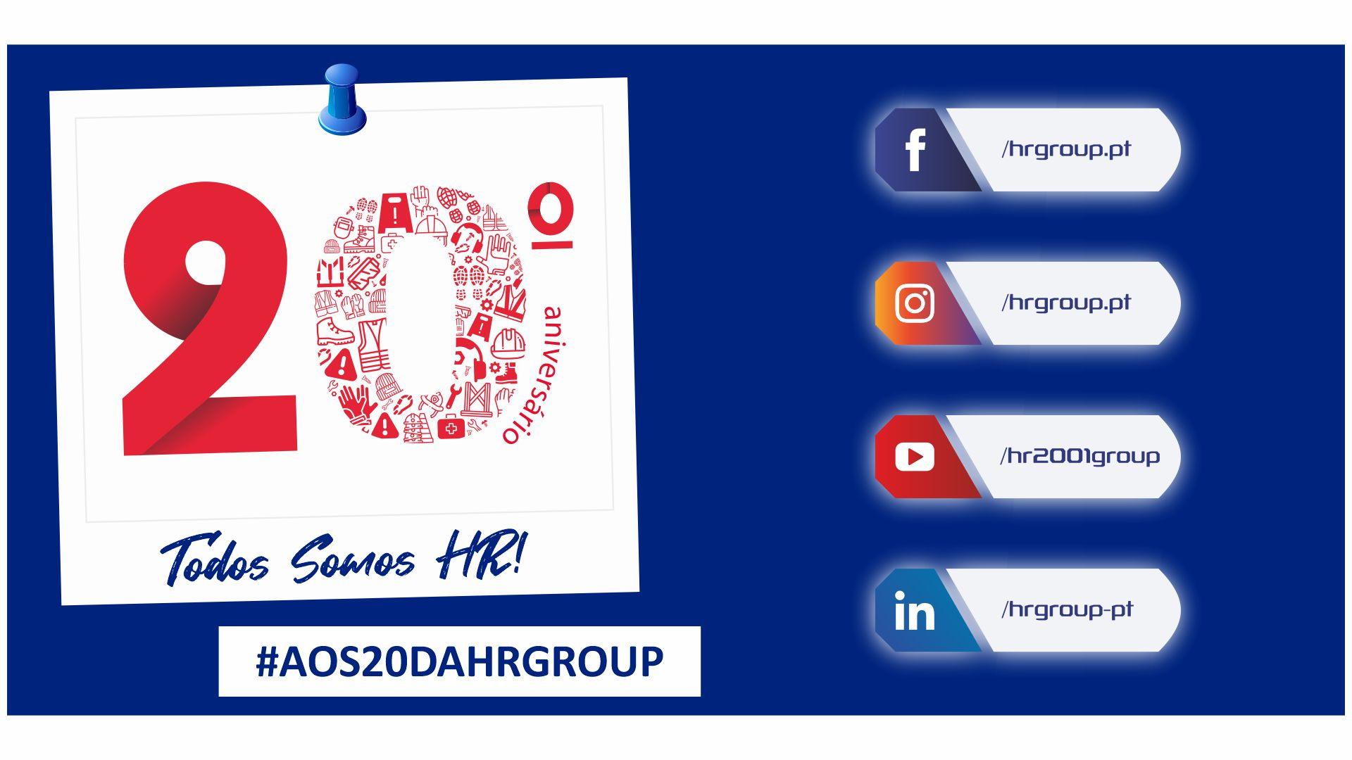 Feliz Aniversário HR Group