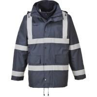 PARKA IMP FIT REFLECT C/ POLAR INT AZUL ESC S431