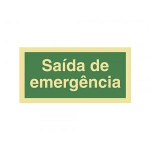 SINAL SAÍDA DE EMERGÊNCIA P0032