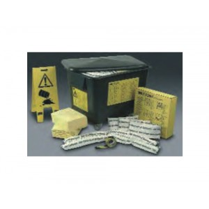 KIT EMERGENCIA ABSORVENTE QUIMICOS 75L