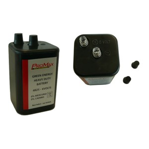 Bateria P/Lampada Rotativa 00103 *