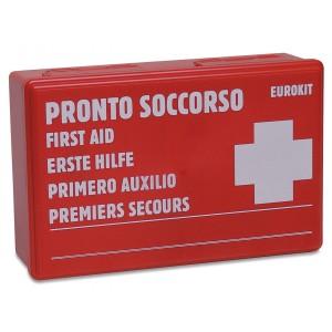 CAIXA PRIMEIROS SOCORROS 26,3X17X8,3CM CASA/CARR *