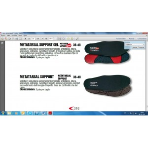 PALMILHAS METATARSAL SUPPORT PU