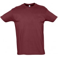 T-SHIRT M/MANGA IMPERIAL BORDEAUX