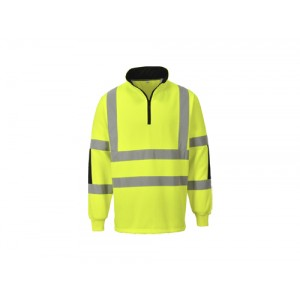 SWEAT M/FECH FITA REFLECT AMARELO ALTA VISIB B308