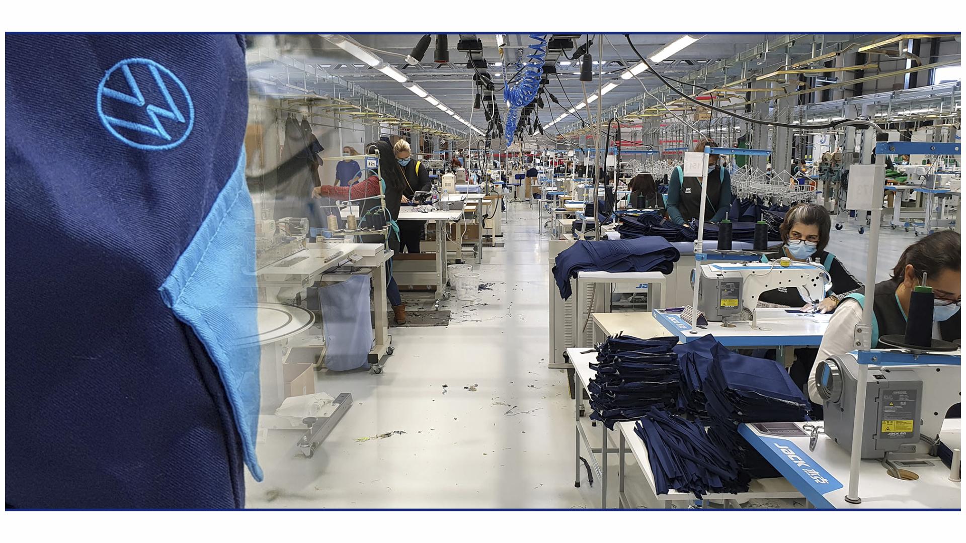 HR Group responsável pela confecção de vestuário profissional para a Volkswagen Autoeuropa