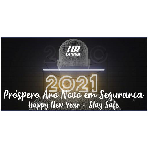Próspero Ano Novo em Segurança